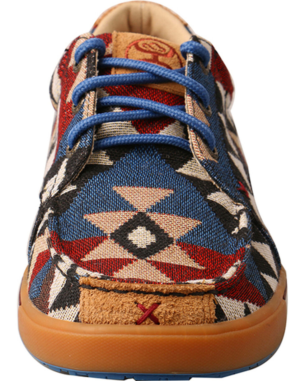 Twisted X Women's Graphic Pattern Canvas Shoes, Multi, hi-res