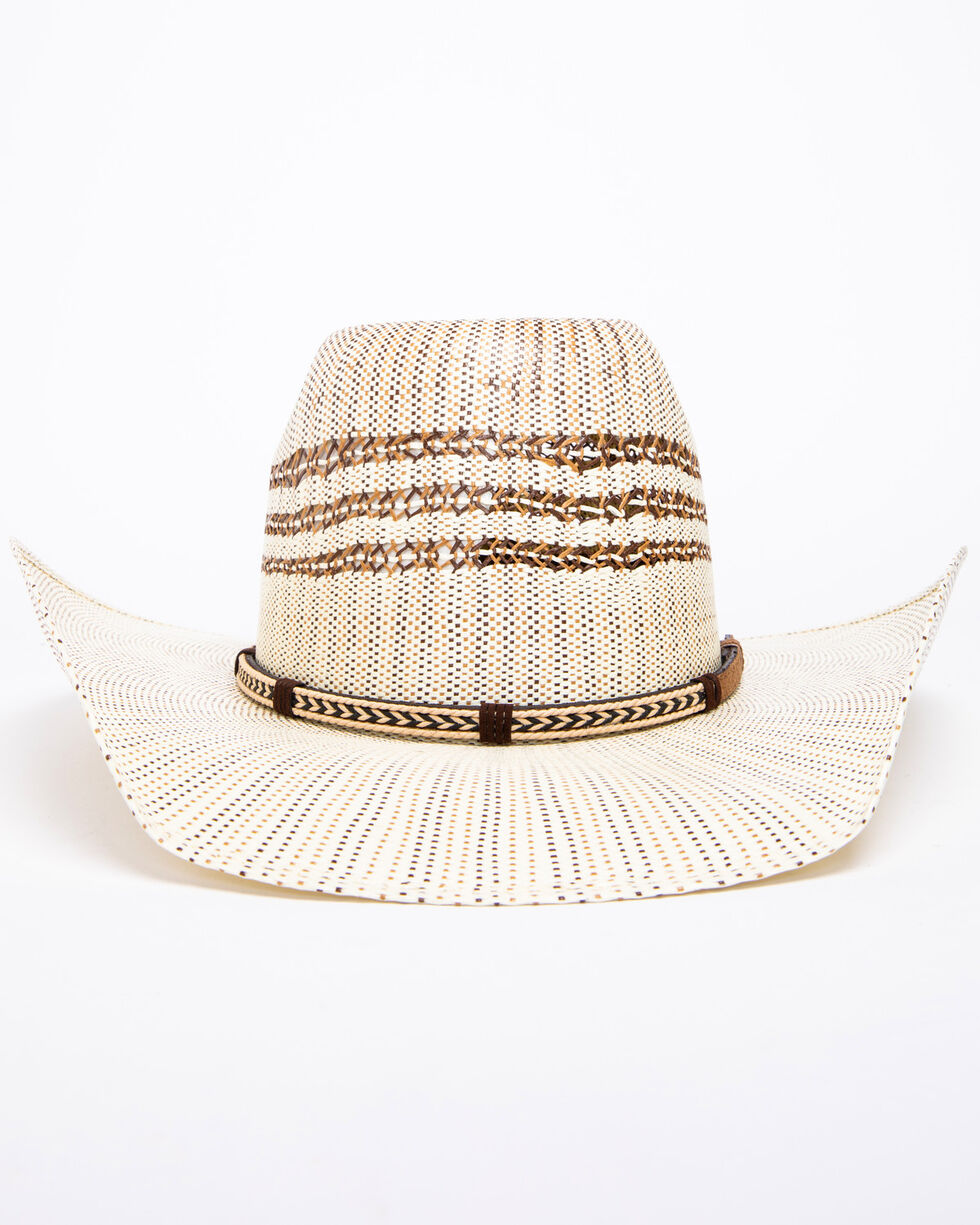 Cody James Men's 15X Bangora BR Crease Cowboy Hat, Natural, hi-res