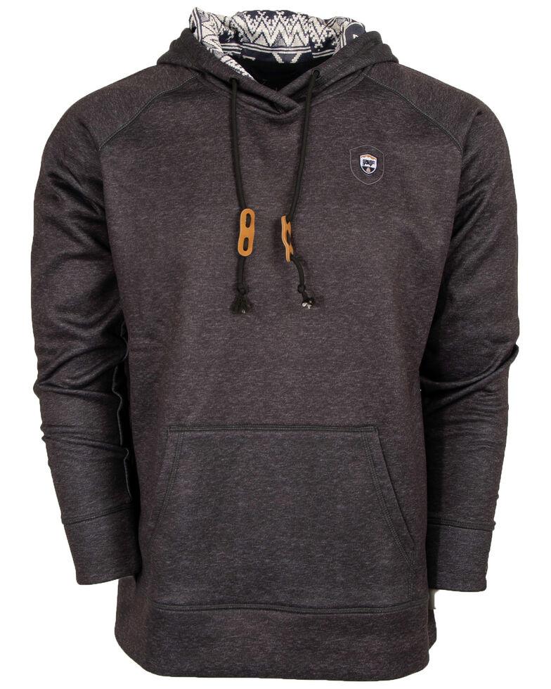 STS Ranchwear Men's Dark Grey Tuscon Hooded Sweatshirt - Big , Dark Grey, hi-res
