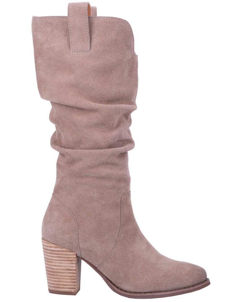 Dingo Women's Cantina Fashion Boots - Round Toe, Taupe, hi-res