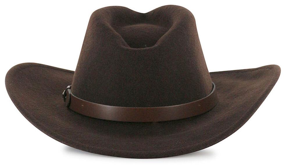 Cody James Men's Santa Ana Brown Wool Felt Hat , Brown, hi-res