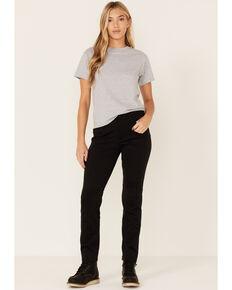 Wrangler Women's Black Single Layer Warming Pants, Black, hi-res