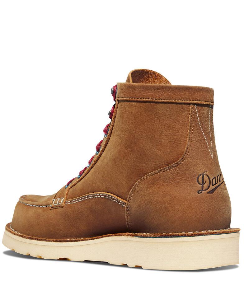 Danner Men's Bull Run Lux Work Boots - Soft Toe, Sand, hi-res