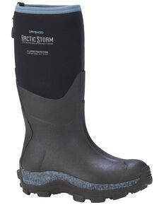 Dryshod Women's Blue Arctic Storm Blue Winter Work Boots, Black, hi-res