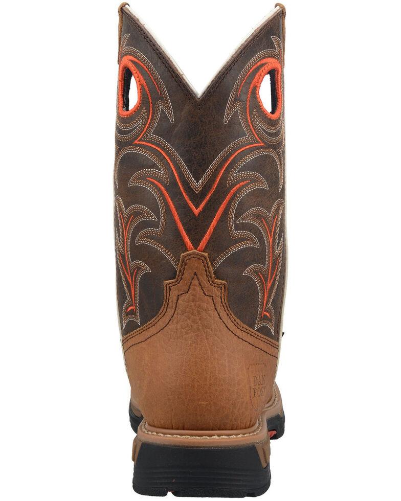 Dan Post Men's Storm's Eye Waterproof Western Work Boots, Brown, hi-res