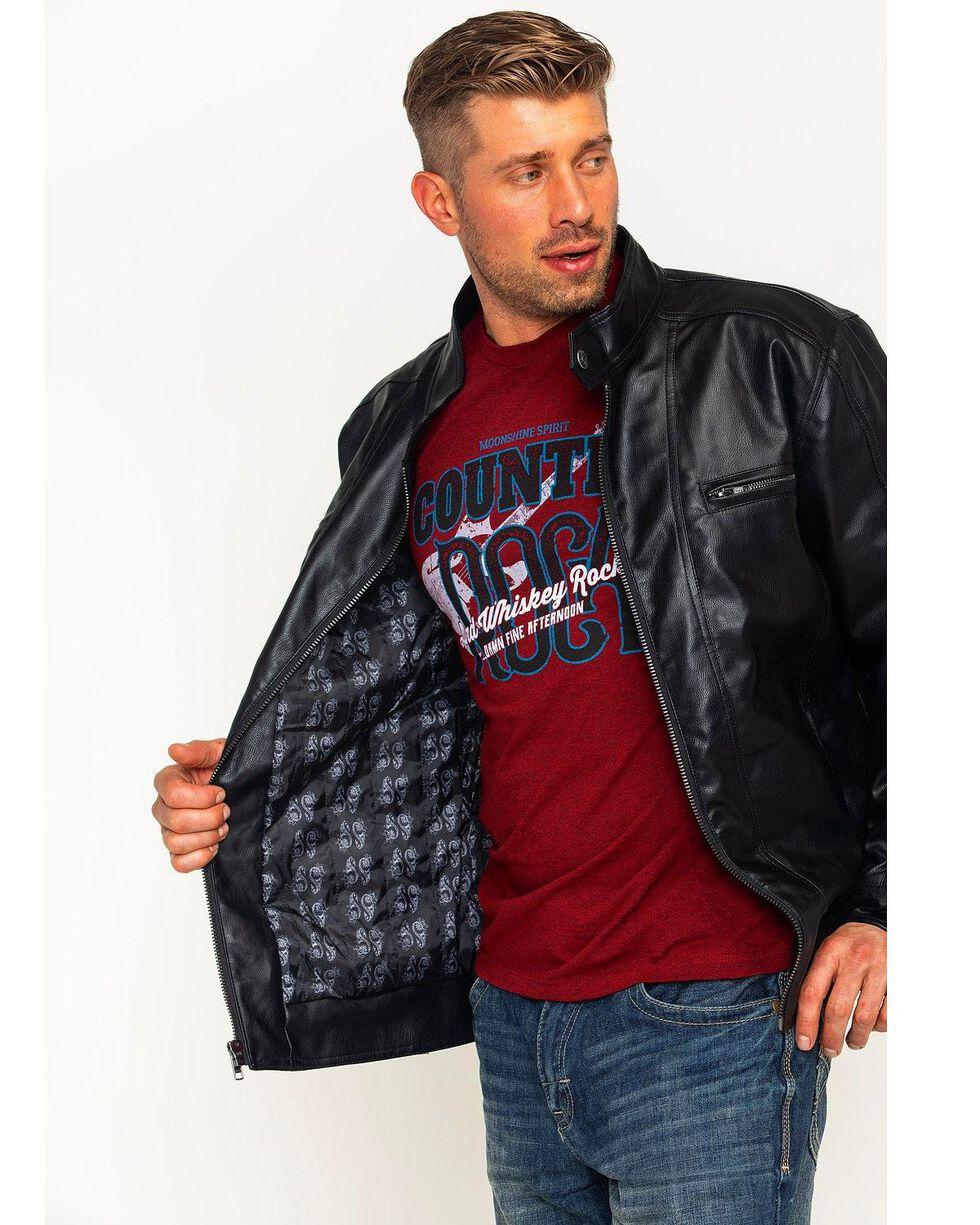 Moonshine Spirit Men's Roadster Jacket, Black, hi-res