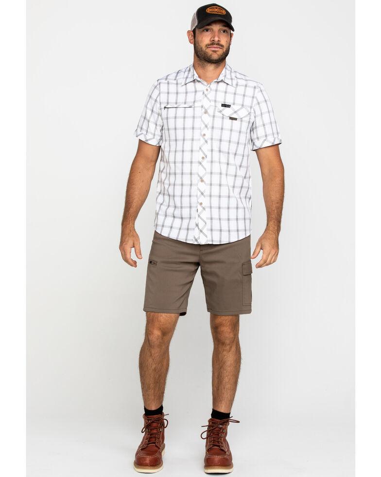 ATG By Wrangler Men's Morel Utility Asymmetric Cargo Shorts , Brown, hi-res
