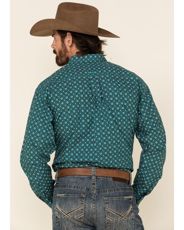 Ariat Men's Ohara Geo Print Long Sleeve Western Shirt - Big , Multi, hi-res
