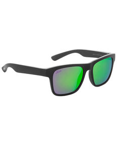 Hobie Coastal Float Satin Black & Copper Lightweight Polarized Sunglasses, Black, hi-res