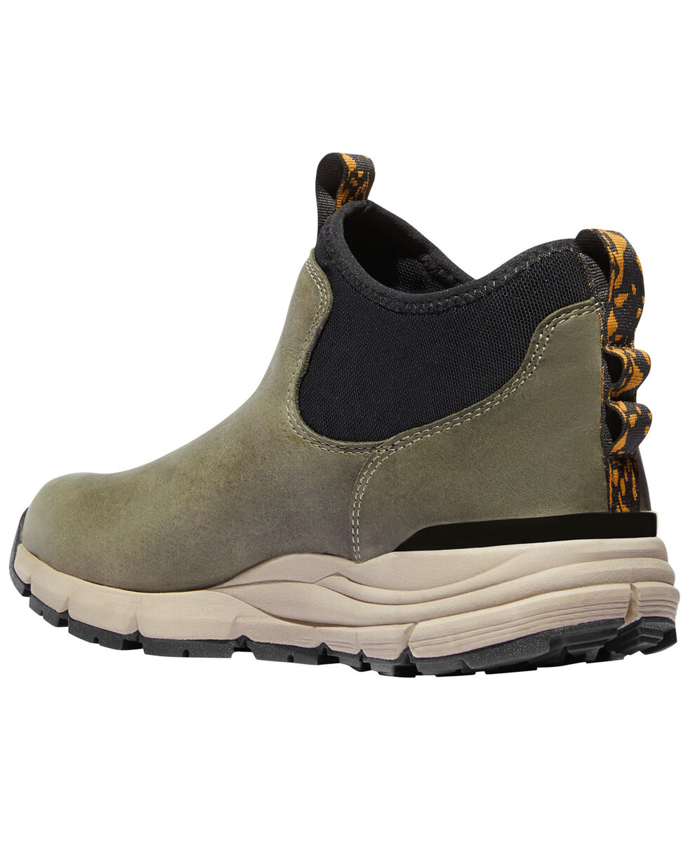 Danner Men's Olive Mountain 600 Chelsea Boots - Round Toe, Olive, hi-res
