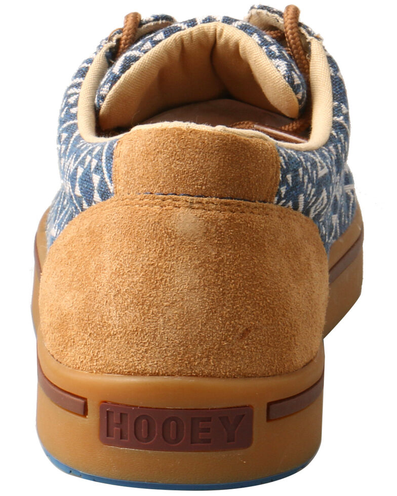Twisted X Men's Hooey Loper Shoes - Round Toe, Blue, hi-res