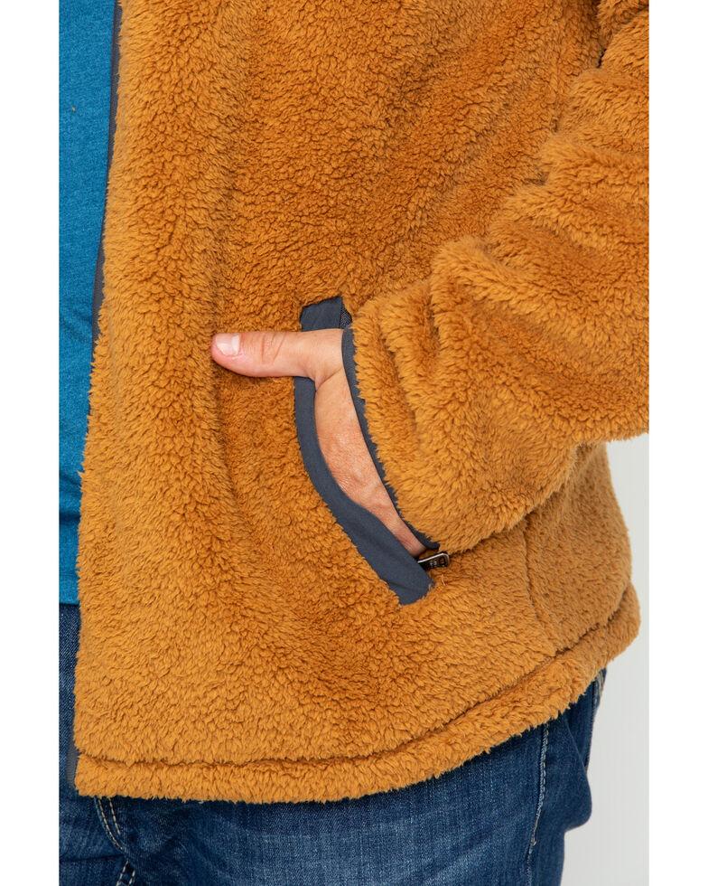 Cody James Men's Yellow Stone Fleece Zip-Up Jacket , Lt Brown, hi-res