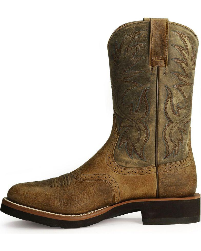 Ariat Men's Heritage Crepe Cowboy Boots - Round Toe, Earth, hi-res