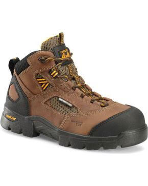 Double H Men's Shenandoah Waterproof Work Boots - Comp Toe, Dark Brown, hi-res