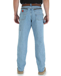 Wrangler Riggs Men's Workwear Vintage Indigo Relaxed Carpenter Jeans - Big , Indigo, hi-res