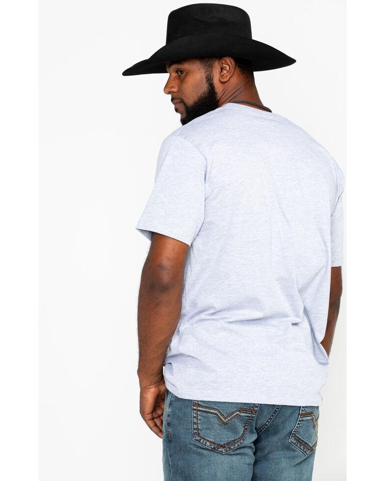 Moonshine Spirit Men's Wave Flag Graphic T-Shirt , Heather Grey, hi-res
