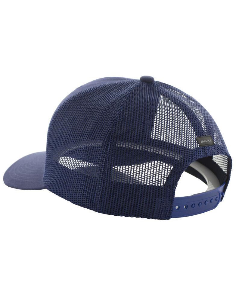 Bex Men's Navy Barzo Mesh Back Cap , Navy, hi-res