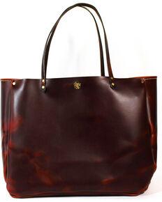 Southlife Supply Womens Shiloh Brick Medium Bucket Bag Mahogany Hi Res