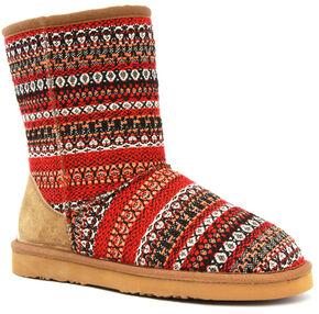 Lamo Footwear Kid's Juarez Boots - Round Toe, Red, hi-res
