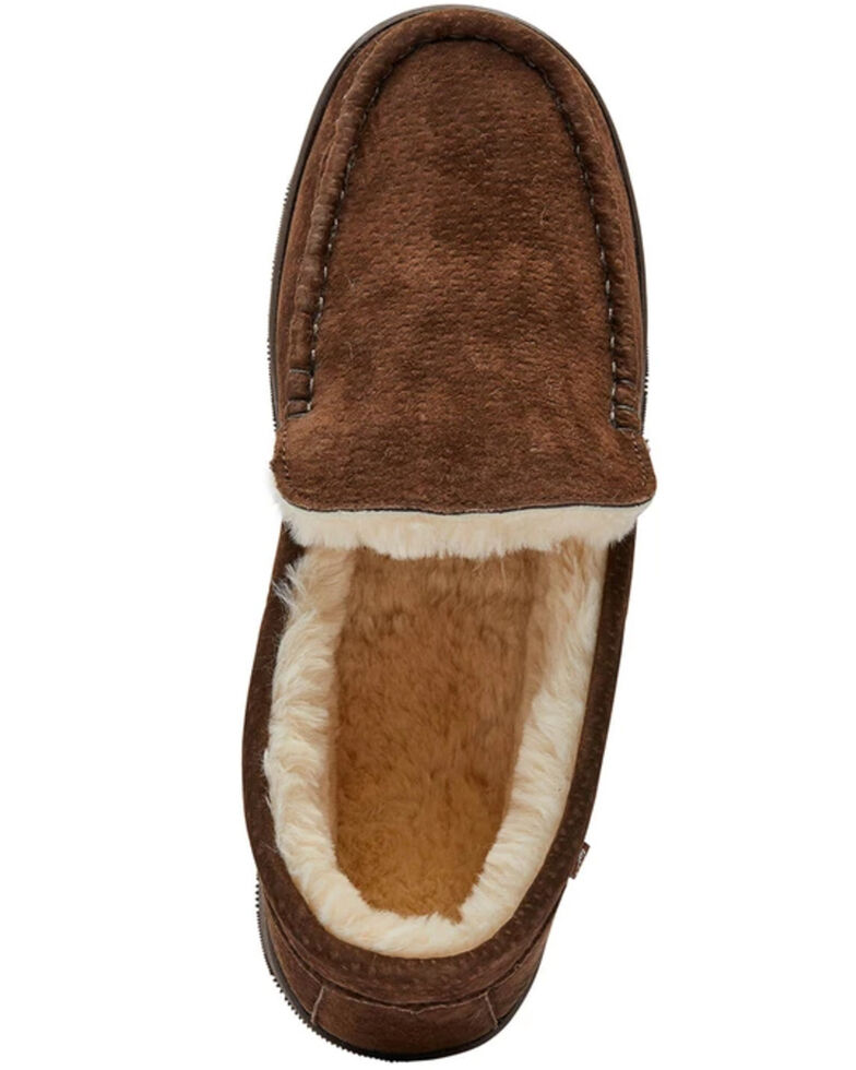 Lamo Footwear Men's Harrison Slippers - Moc Toe, Brown, hi-res