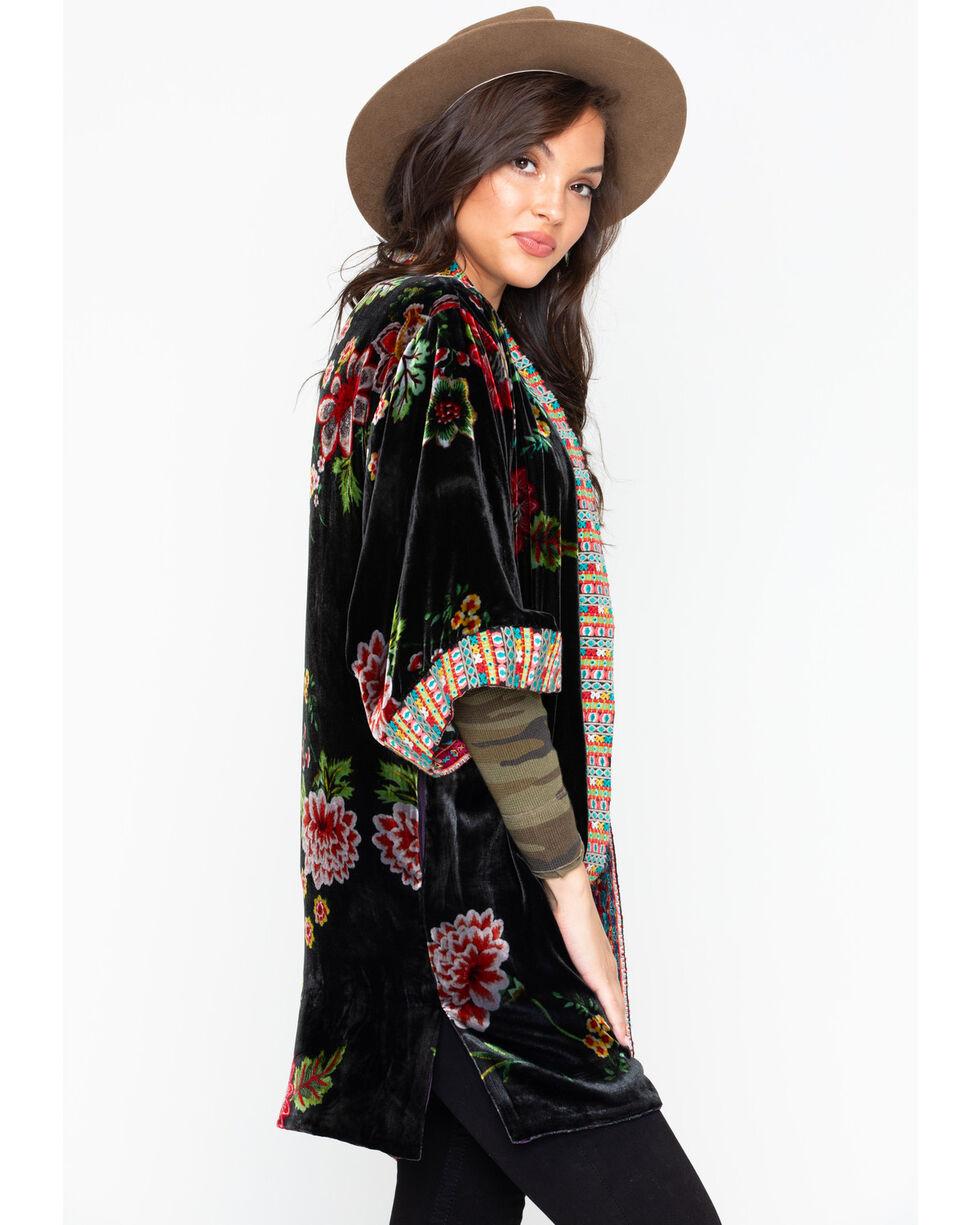 Johnny Was Women's Velvet Lined Kimono, Multi, hi-res