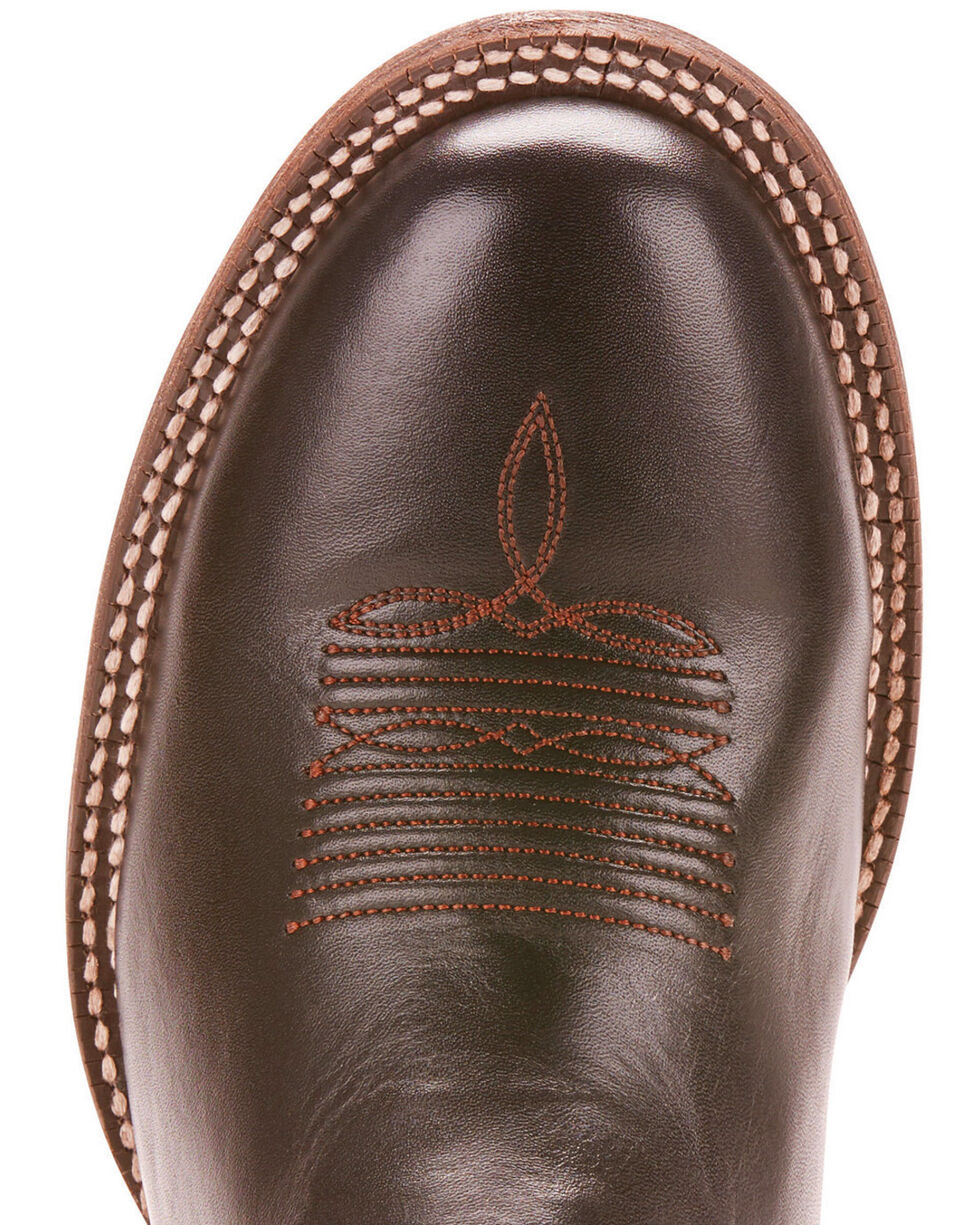 Ariat Men's Circuit Competitor Performance Cowboy Boots - Round Toe, Black, hi-res