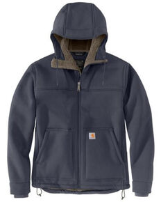 Carhartt Men's Bluestone Super Dux Relaxed Fit Sherpa-Lined Work Active Jacket - Tall , Blue, hi-res