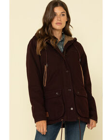 Kimes Ranch Women's Black Cherry All Weather Anorak, Black Cherry, hi-res