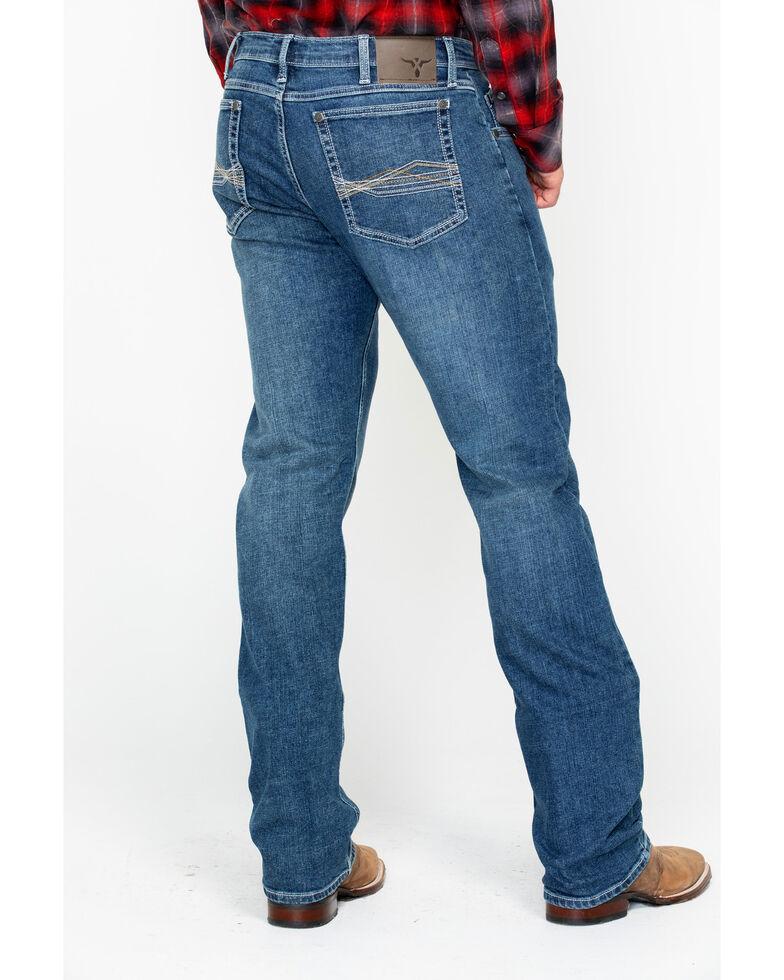 Wrangler 20X Men's No. 44 Lindale Slim Straight Medium Wash Jeans, Blue, hi-res