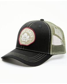 Cody James Men's Pistol Bandit Logo Patch Mesh-Back Ball Cap , Black, hi-res