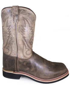 Smoky Mountain Men's Brown Western Boots - Square Toe, Brown, hi-res