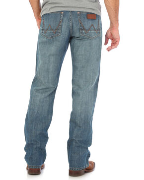 Wrangler Retro Men's Blue Relaxed Fit Jeans - Straight Leg , Indigo, hi-res