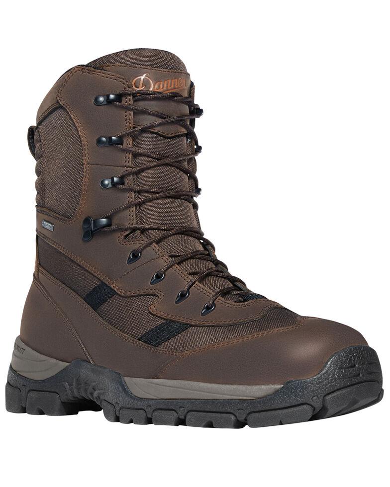"""Danner Men's Brown Alsea 8"""" Lace Up Waterproof Boots - Round Toe, Brown, hi-res"""