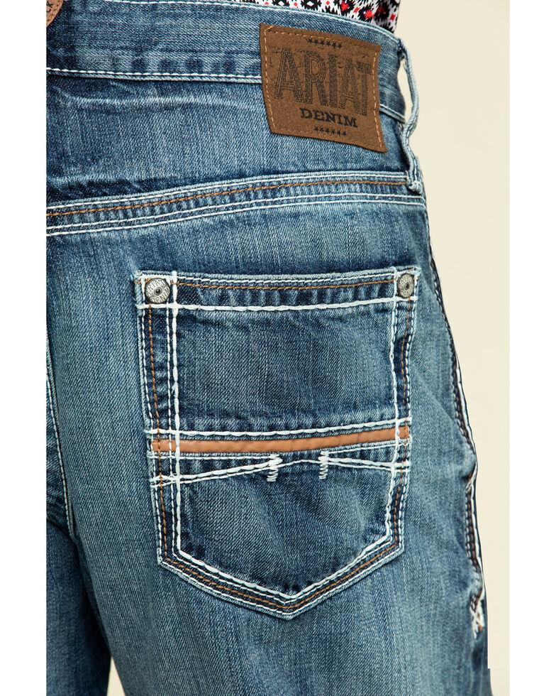 Ariat Men's M4 Coltrane Durango Bootcut Jeans, Denim, hi-res