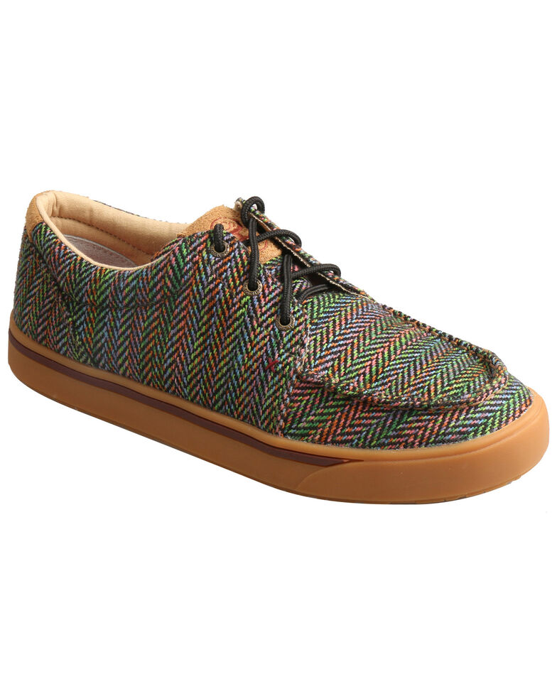 Twisted X Men's Serape Hooey Loper Shoes - Moc Toe, Multi, hi-res
