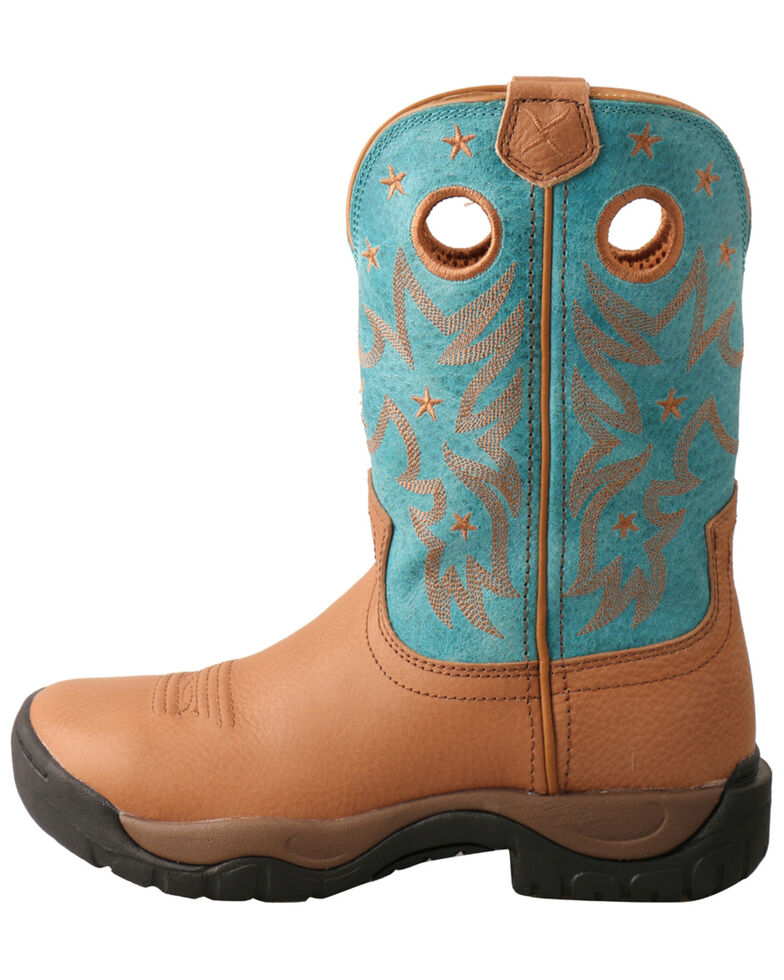 Twisted X Women's All Around Western Boots - Round Toe, Camel, hi-res