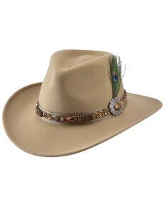 Bullhide Camel Rumours Premium Wool Felt Western Hat , Camel, hi-res