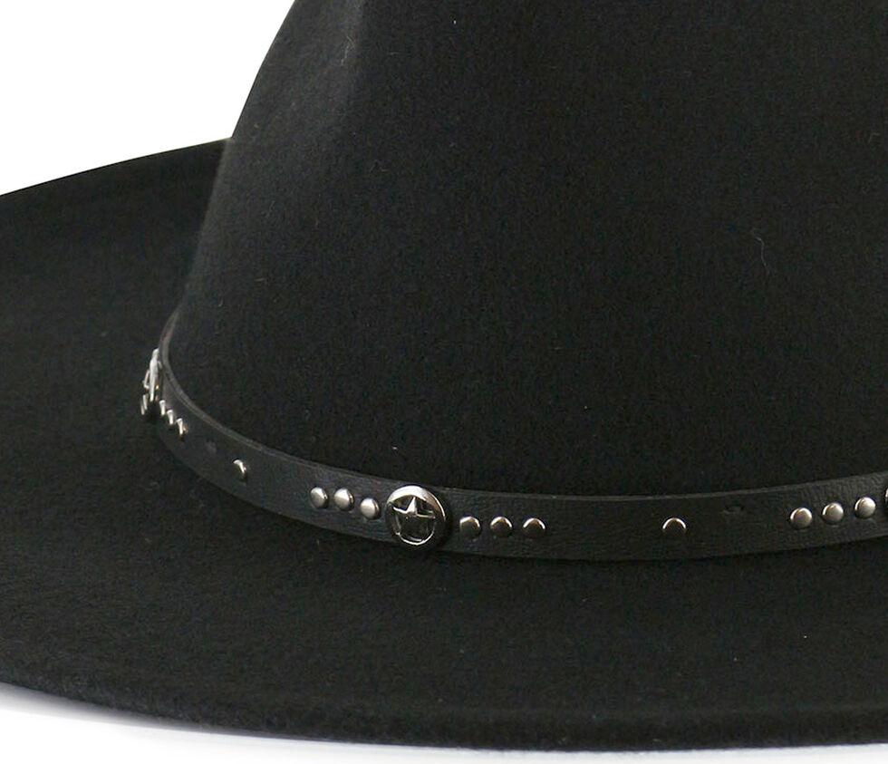 Cody James Men's Sedona Wool Felt Hat, Black, hi-res