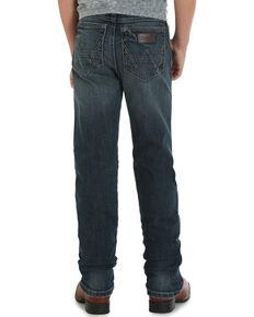 Wrangler Retro Boys' (4-7) Slim Straight Fit Jeans , Indigo, hi-res