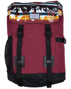 HOOey Boys' Topper II Burgundy Backpack, Burgundy, hi-res