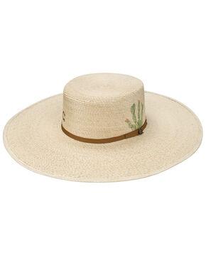 Resistol Women's Cactus Expert Palm Leaf Hat, Natural, hi-res