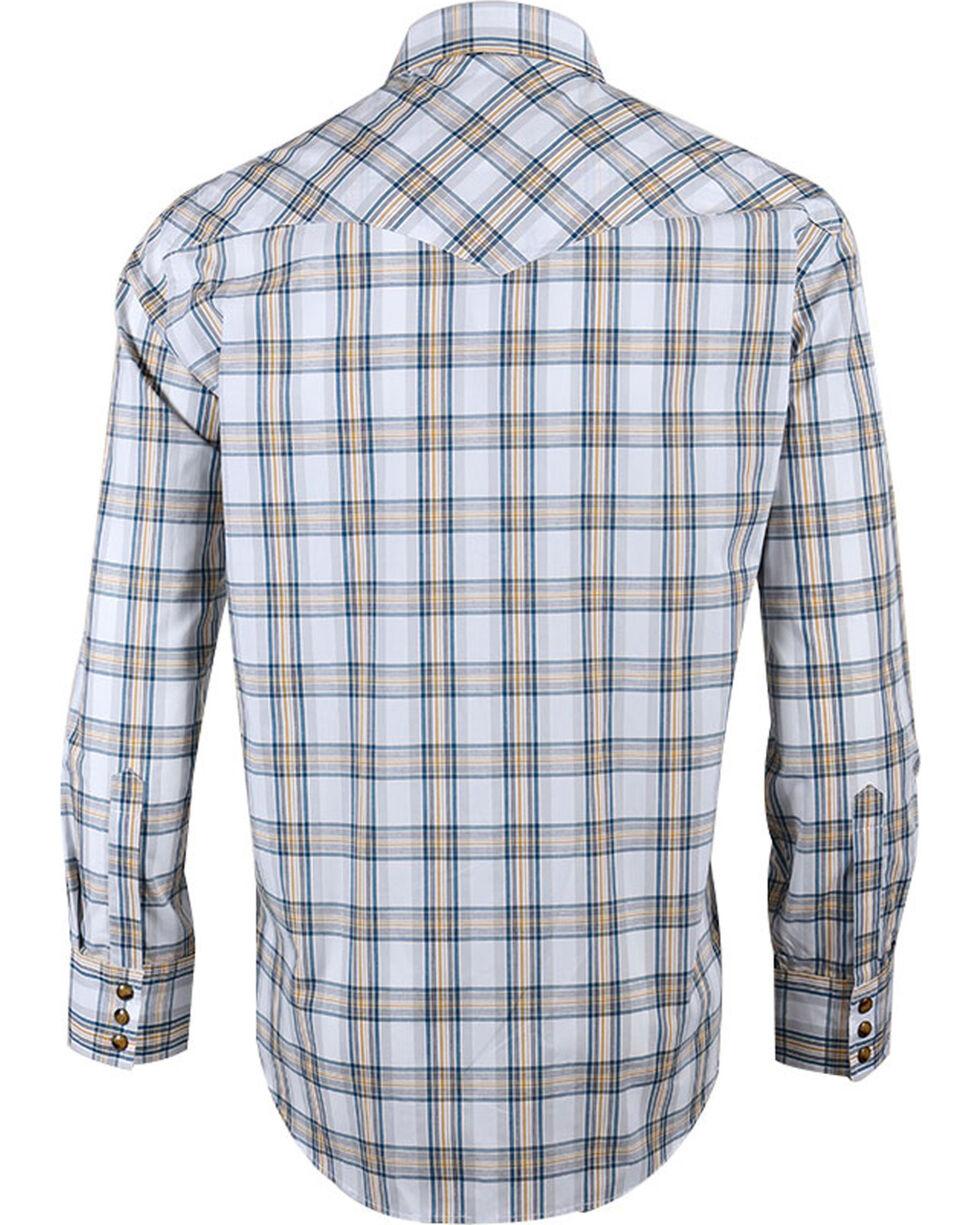 Pendleton Men's White Grid Plaid Long Sleeve Shirt , White, hi-res