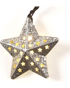 BB Ranch Galvanized Star Lights, No Color, hi-res