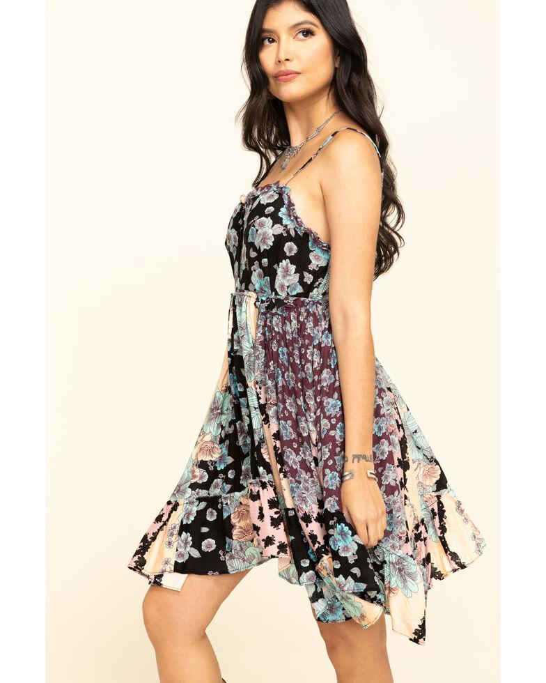 Free People Women's Summer Storm Slip Dress, Black, hi-res