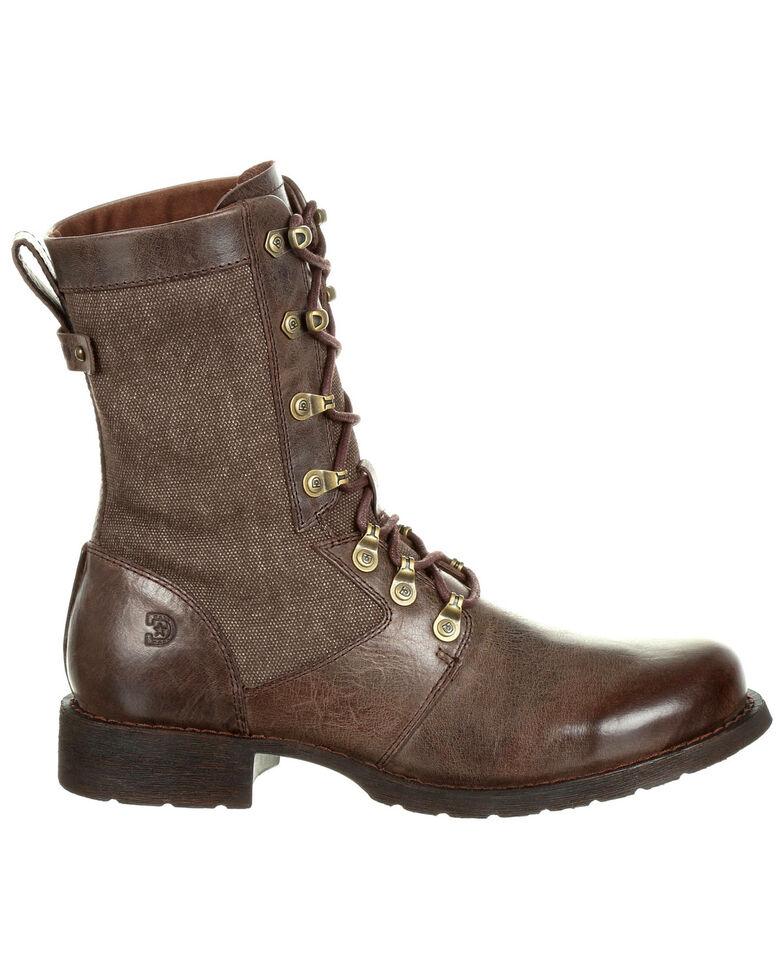Durango Women's Drifter Lacer Boots - Round Toe, Dark Brown, hi-res