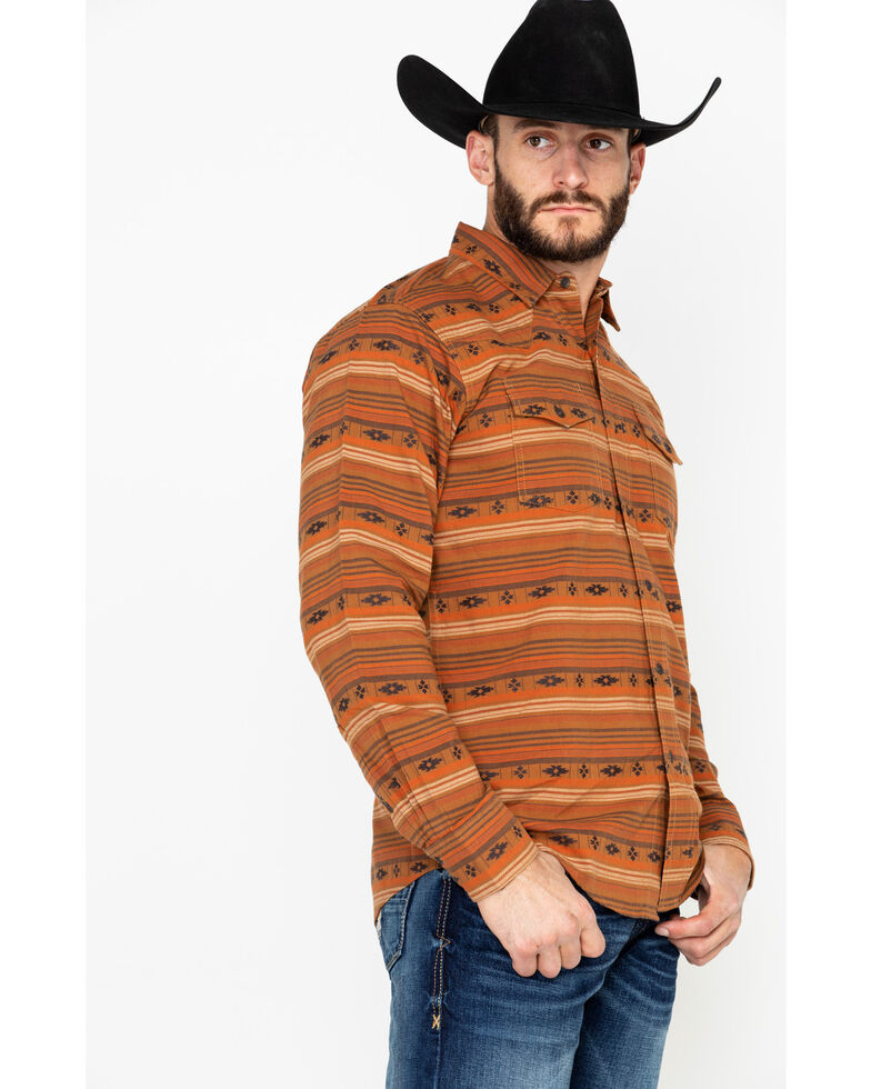 Ariat Men's Wagnor Retro Long Sleeve Western Shirt , Multi, hi-res