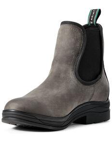 Ariat Women's Keswick Wateproof Boots - Round Toe, Grey, hi-res