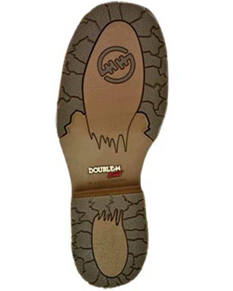 Double H Men's Bertram Western Work Boots - Steel Toe, Brown, hi-res