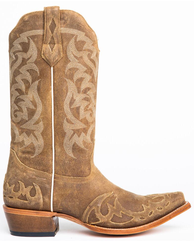 Moonshine Spirit Men's Truss Western Boots - Snip Toe, Tan, hi-res