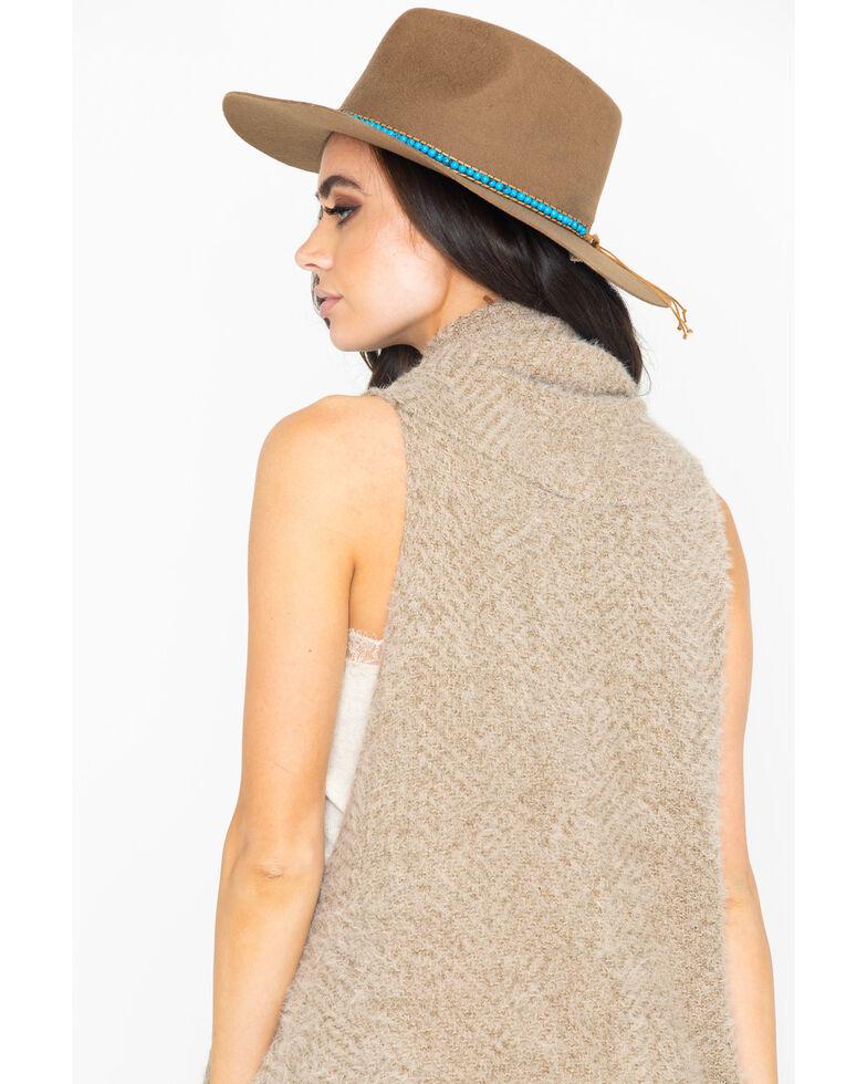 Shyanne Women's Warm Winters Taupe Scarf, Beige/khaki, hi-res